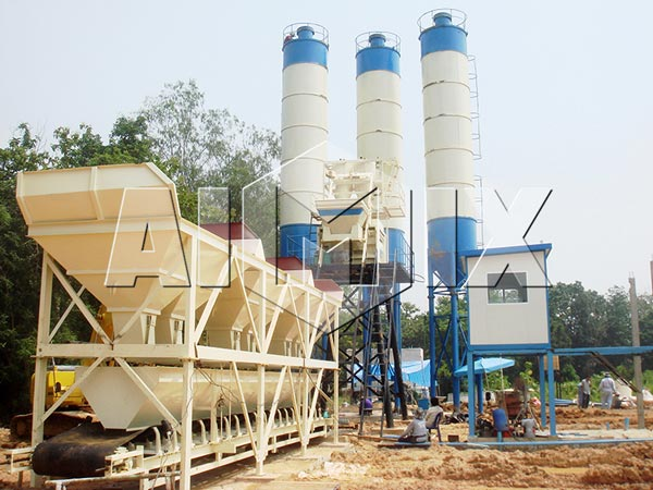 HZS Precast Concrete Plant Sale