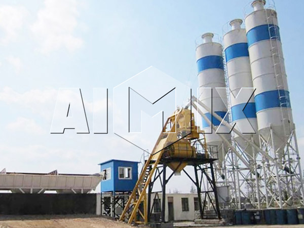 AIMIX HZS25 Mini Concrete Batching Plant