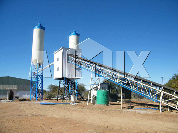 AIMIX Mini Concrete Batching Plant