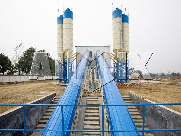 AIMIX Stationary Concrete Batching Plant