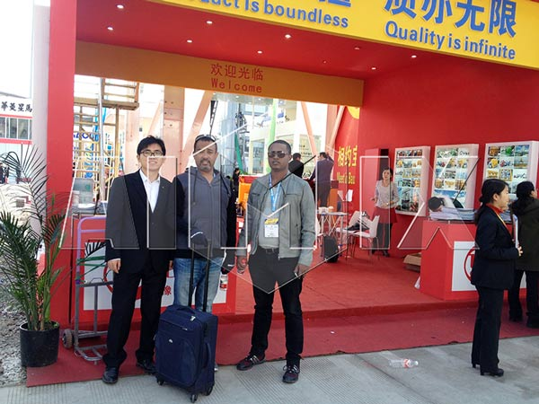 Changli Machinery at Bauma China 2014
