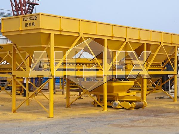 Máquina dosadora de concreto da Usina dosadora de concreto de mistura seca AIMIX