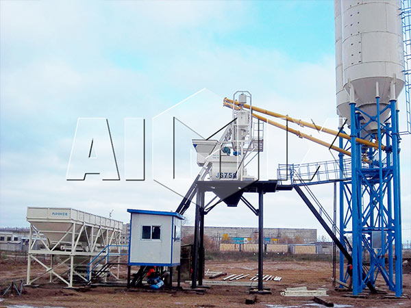 Concrete Batching Plant Stationary type HZS60