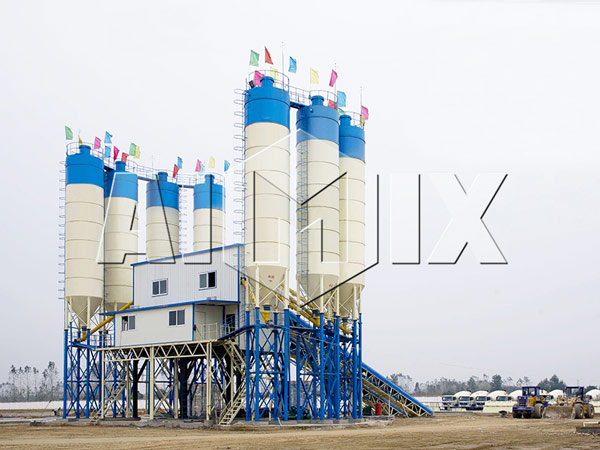Concrete Batching Plant Stationary type