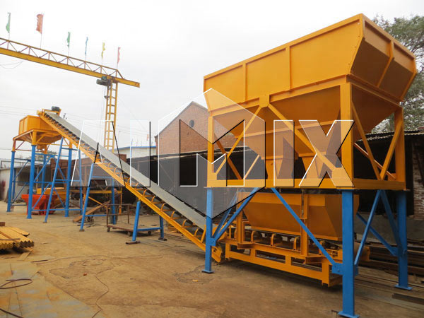 Dry Mix Concrete Batching Plant Piture