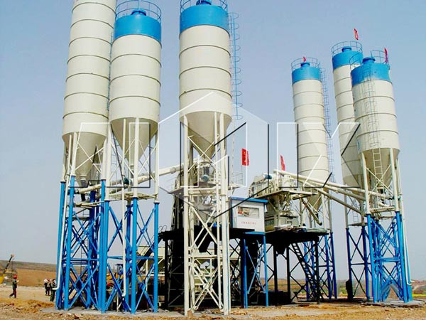 HZS Series Automatic Concrete Batching Plants 60