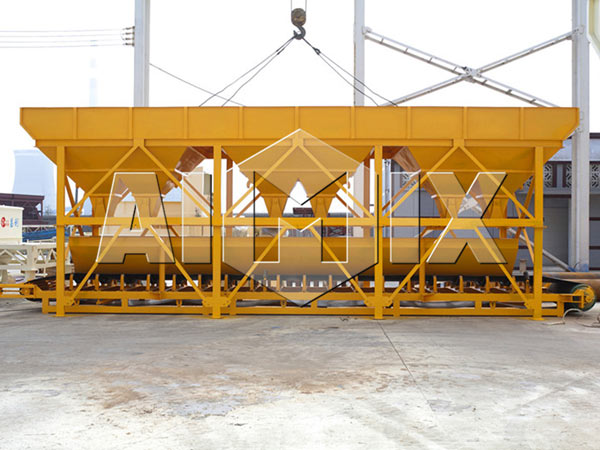 HZS25-240 Central Mix Concrete Plant Batching Machine