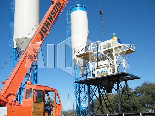 HZS25-240 Ready Mix Concrete Plant HZS60