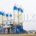 HZS Series Concrete Batching Plant Has A Strong Productivity