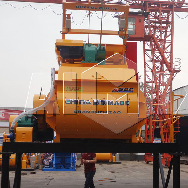 HZS25 concrete batching plant delivery