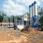 HZS25-240 Ready Mix Concrete Plant
