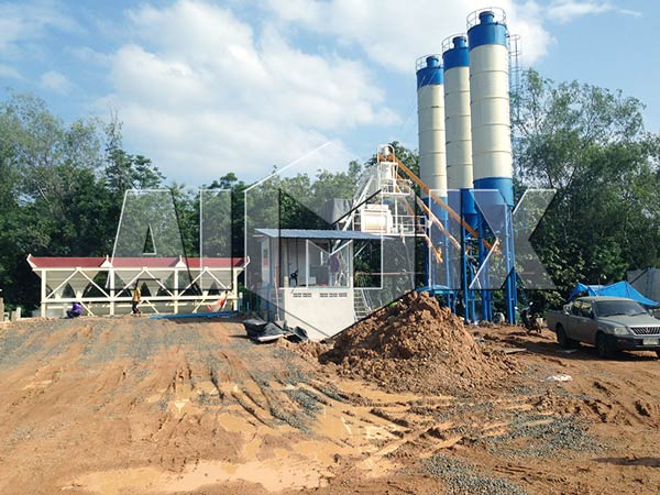 HZS50 Ready Mix Concrete Plant