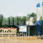 HZS25-75 Small Concrete Batch Plant
