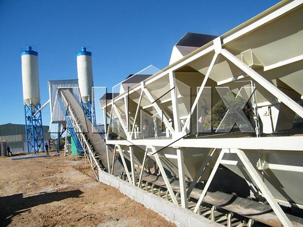 HZS90 Ready Mix Concrete Plant Cost