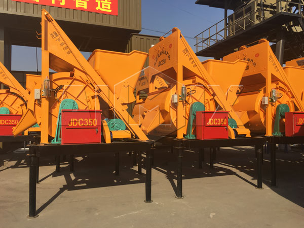 JDC series single shaft concrete mixer