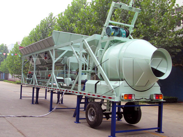 <strong>YHZS20 small concrete plant</strong>