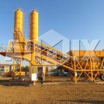 YHZS25-75 Mobile Concrete Batch Plants for Sale