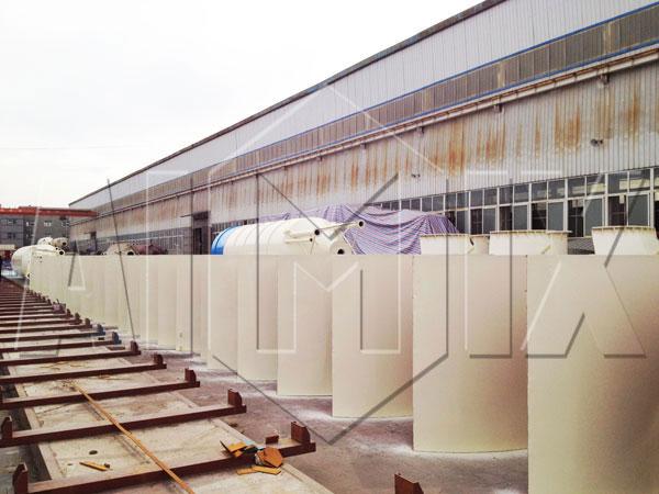 silo de cimento tipo aparafusado