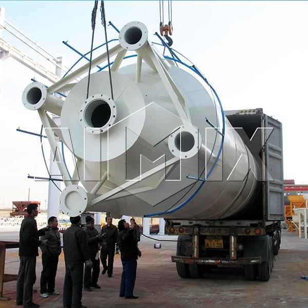cement silo delivery