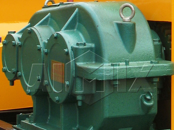 reducer of twin shaft concrete mixer