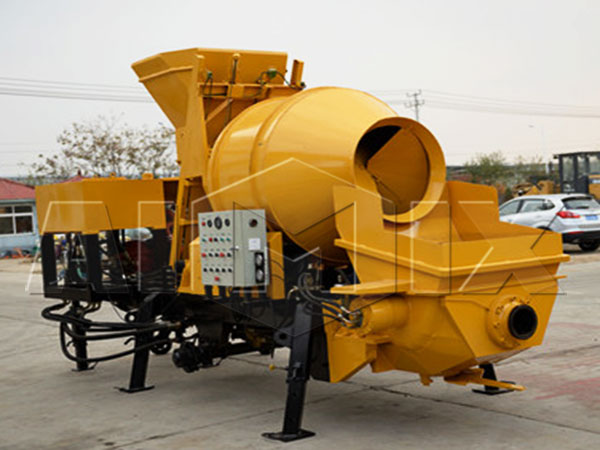 JBS30R-JZC350 diesel engine portable mixer with pump