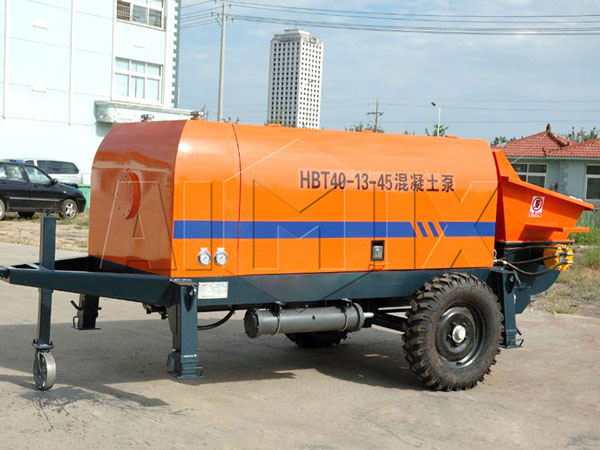 BS40D electric trailer concrete pump