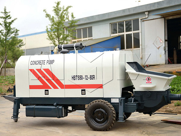 HBTS50 diesel portable concrete pump