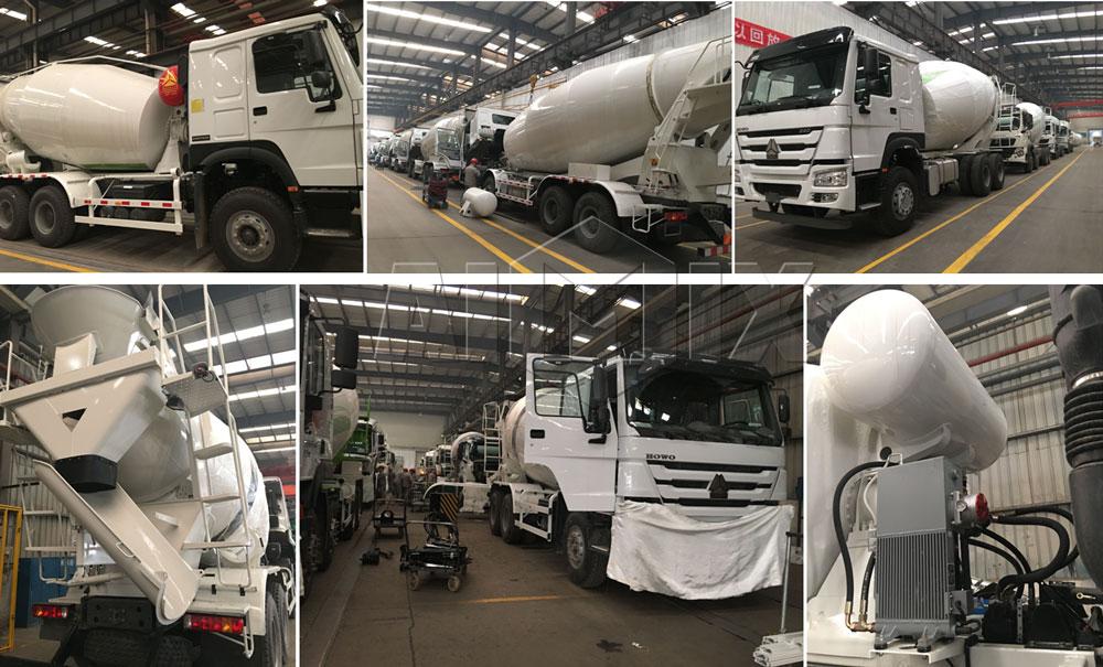 5m³ concrete mixer truck to Vietnam