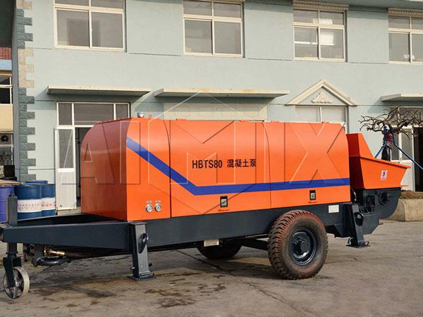 HBTS80 diesel concrete pump