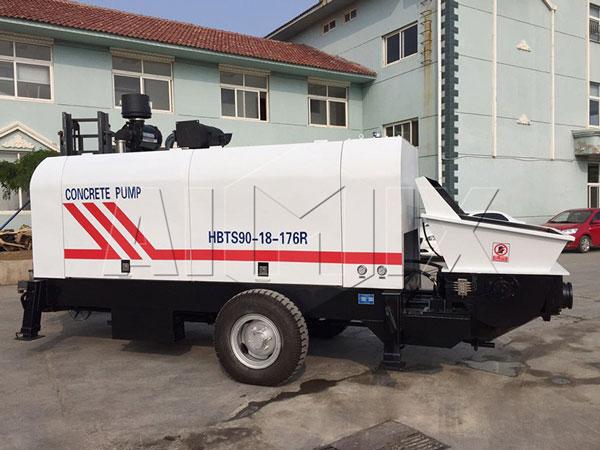 HBTS90 diesel concrete pump