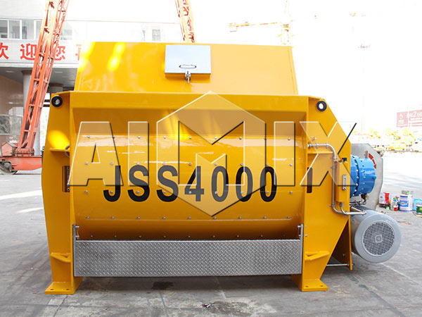 AIMIX JS4000 Twin Shaft Concrete Mixer
