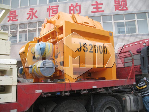 AIMIX Stationary Concrete Mixer for Exporting