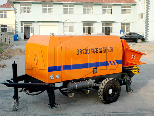 BS20D electric trailer concrete pump