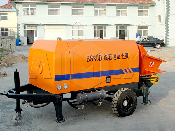 BS30D electric trailer concrete pump