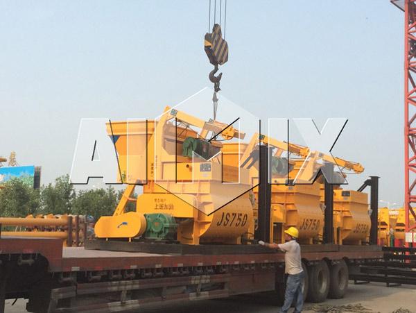 Delivery of AIMIX Mini Concrete Mixer for Sale
