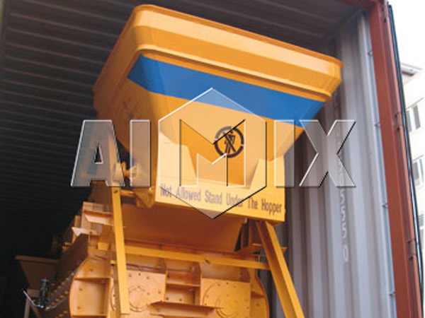Delivery of JS500 Electric Concrete Mixer