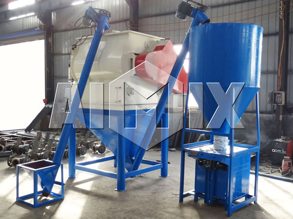 Details of AIMIX Dry Mortar Plant
