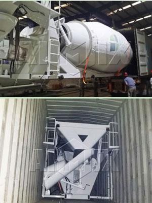 8m³ diesel concrete drum was ready to Philippine