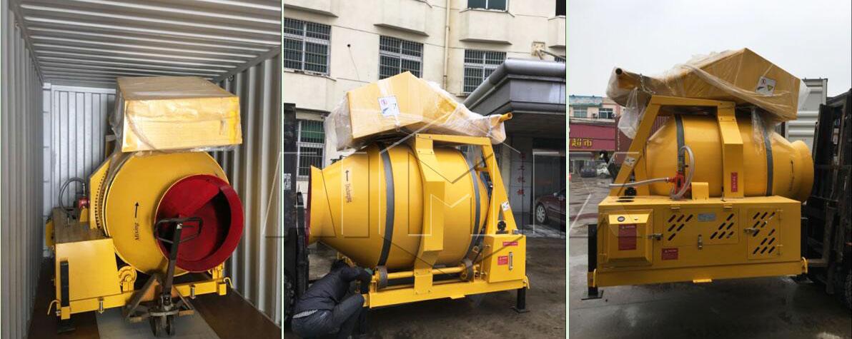 Diesel mixer was ready to Australia
