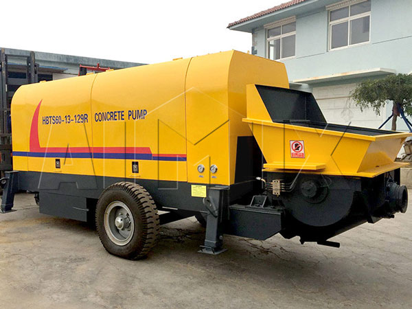 ABT60C small portable concrete pump