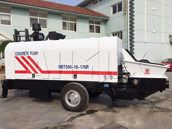 HBTS90 portable concrete pump for sale