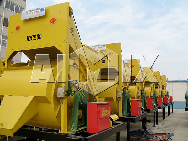 JDC350 Stationary Concrete Mixer