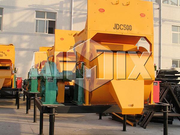 JDC500 Compulsory Concrete Mixer