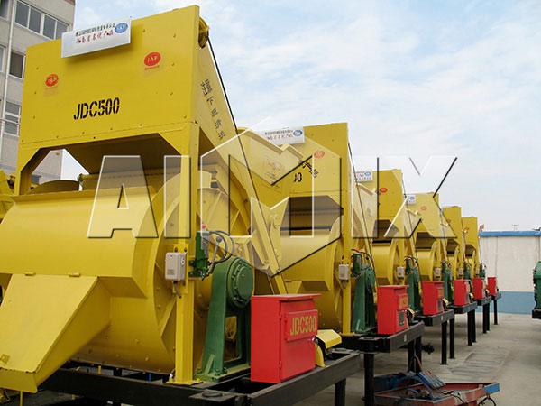 JDC500 SingleShaft Concrete Mixer