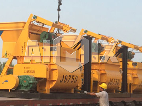 JS750 Electric Concrete Mixer is Exported to Many Countries