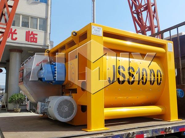 JSS1000 Compulsory Concrete Mixer