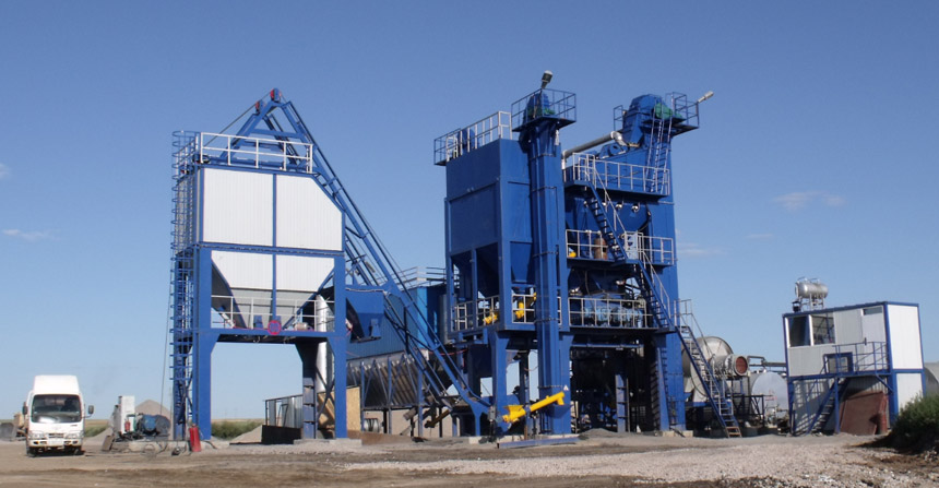 QLB Series Stationary Asphalt Mixing Plant1