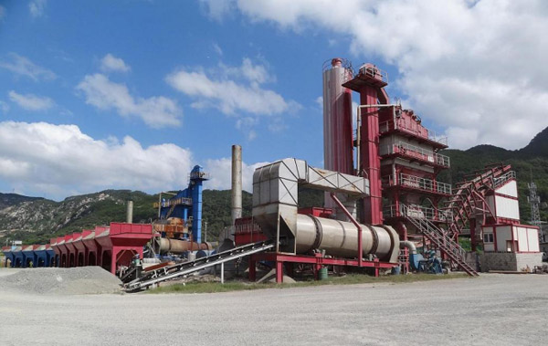 QLB Series Stationary Asphalt Mixing Plant2