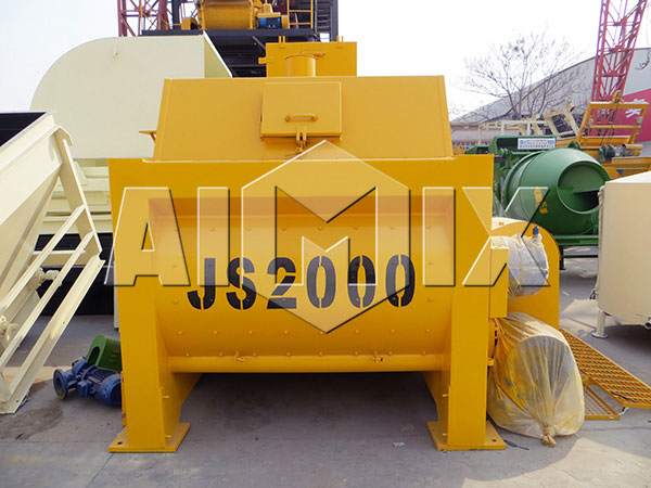 Stationary Concrete Mixer JS