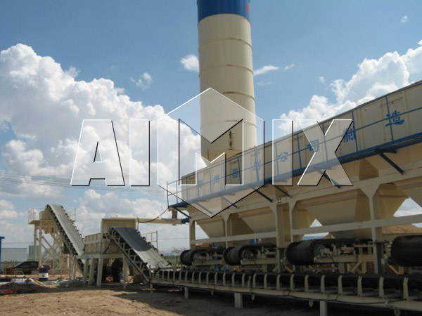 Stationary Type Stabilized Soil Mixing Plant One